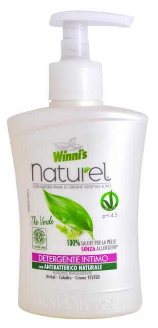 WINNI´S NATUREL Sapone Intimo Thé Verde 250 ml