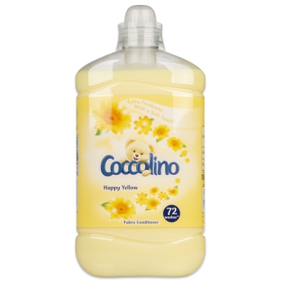 Coccolino Happy Yellow 1,8L-aviváž