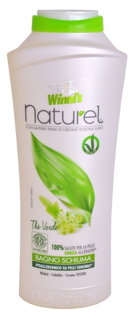 WINNI´S NATUREL Bagno Schiuma Thé Verde 500 ml