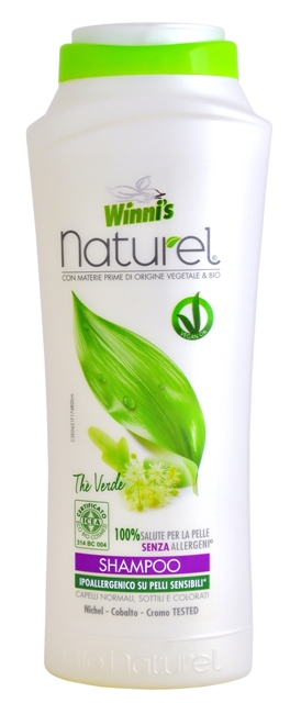 WINNI´S NATUREL Shampoo Thé Verde 250 ml