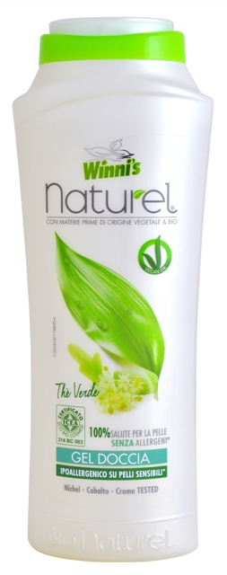 WINNI´S NATUREL Gel Doccia Thé Verde 250 ml