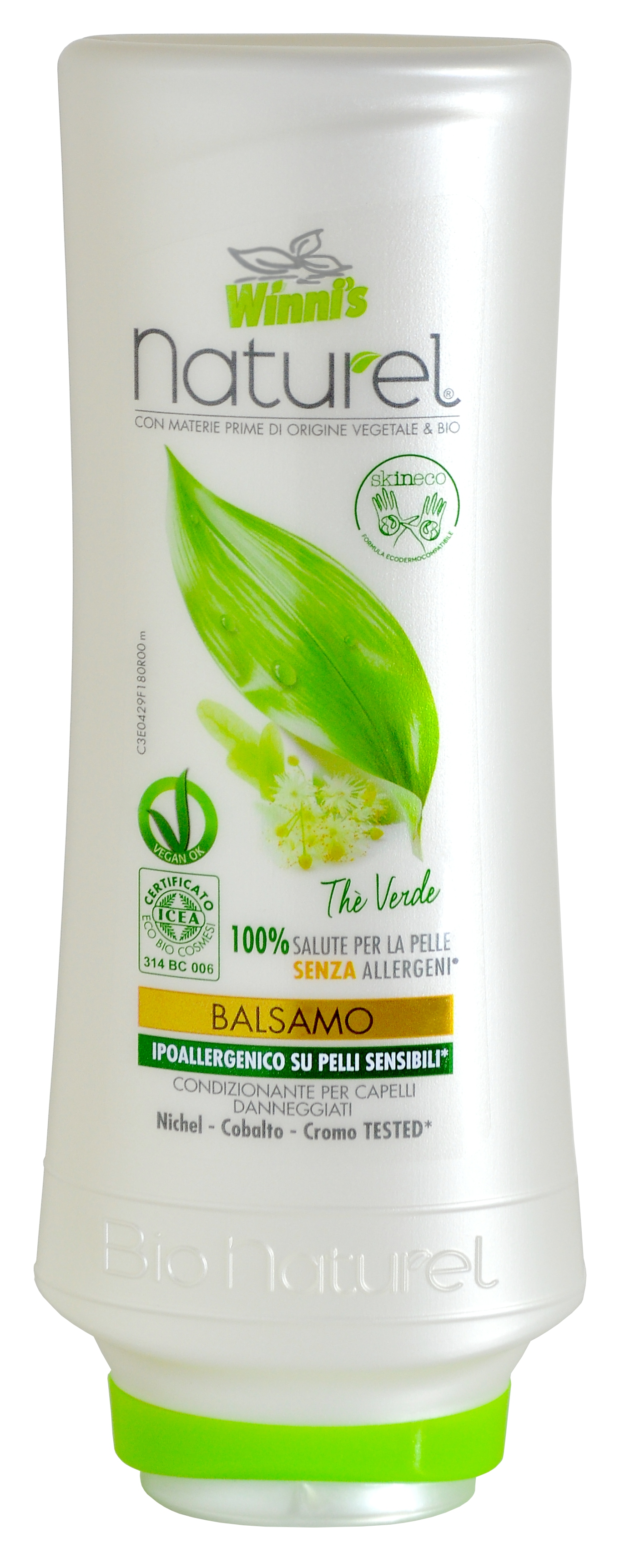 WINNI´S NATUREL Balsamo Thé Verde 250 ml