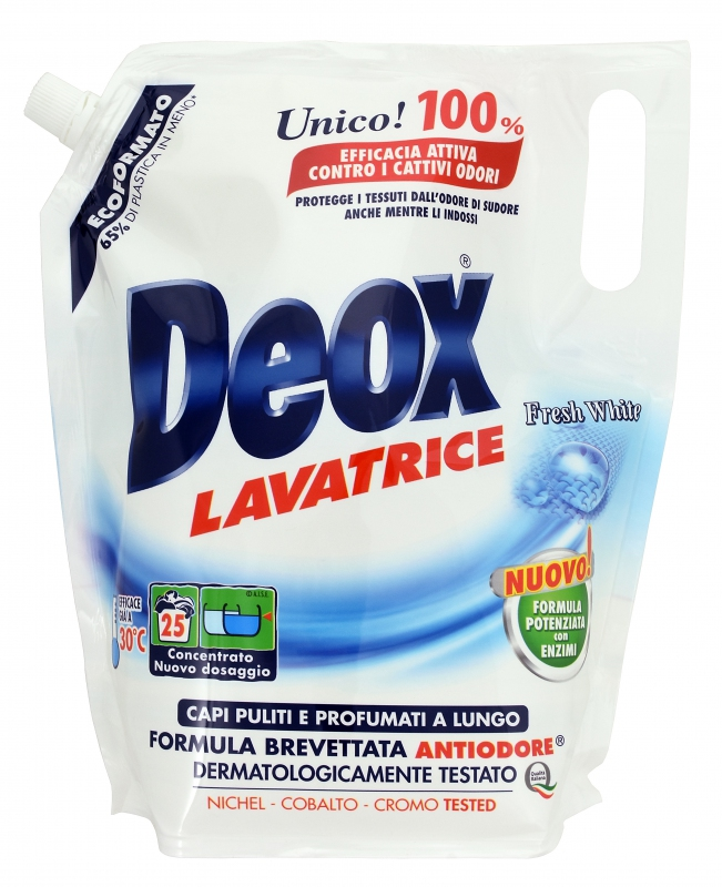 Deox Lavatrice Fresh White Ecoformato 1375ml