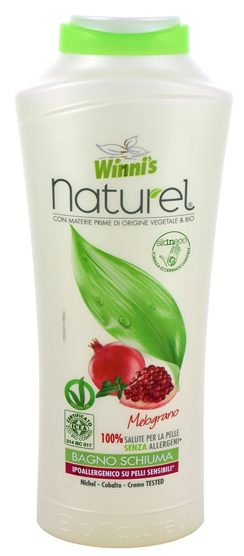 WINNI´S NATUREL Bagnoschiuma Melograno 500 ml
