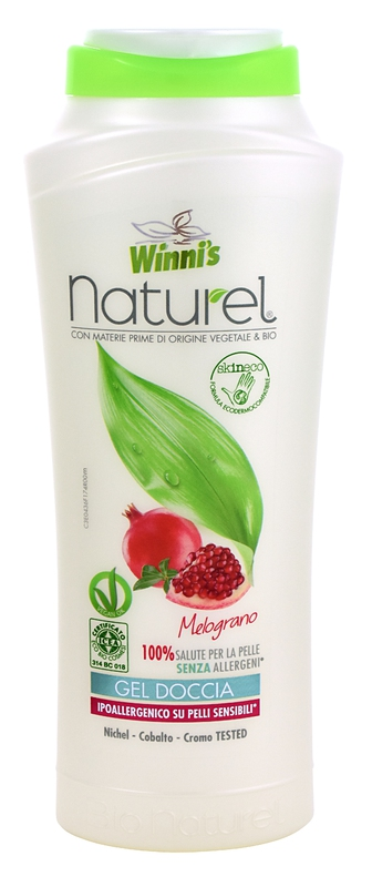 WINNI´S NATUREL Gel Doccia Melograno 250 ml