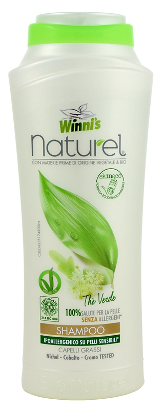 WINNI´S NATUREL Shampoo The Verde 250 ml